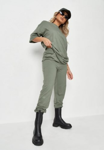 Missguided T-Shirt and Joggers Set