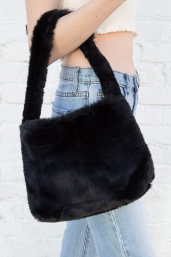 Faux fur purse from Brandy Melville
