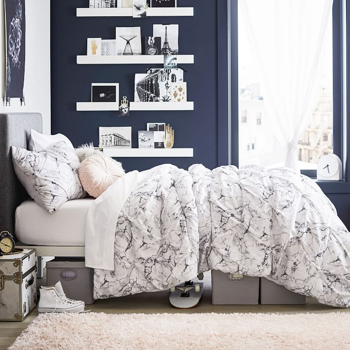 Marble bedding set from PBTeen